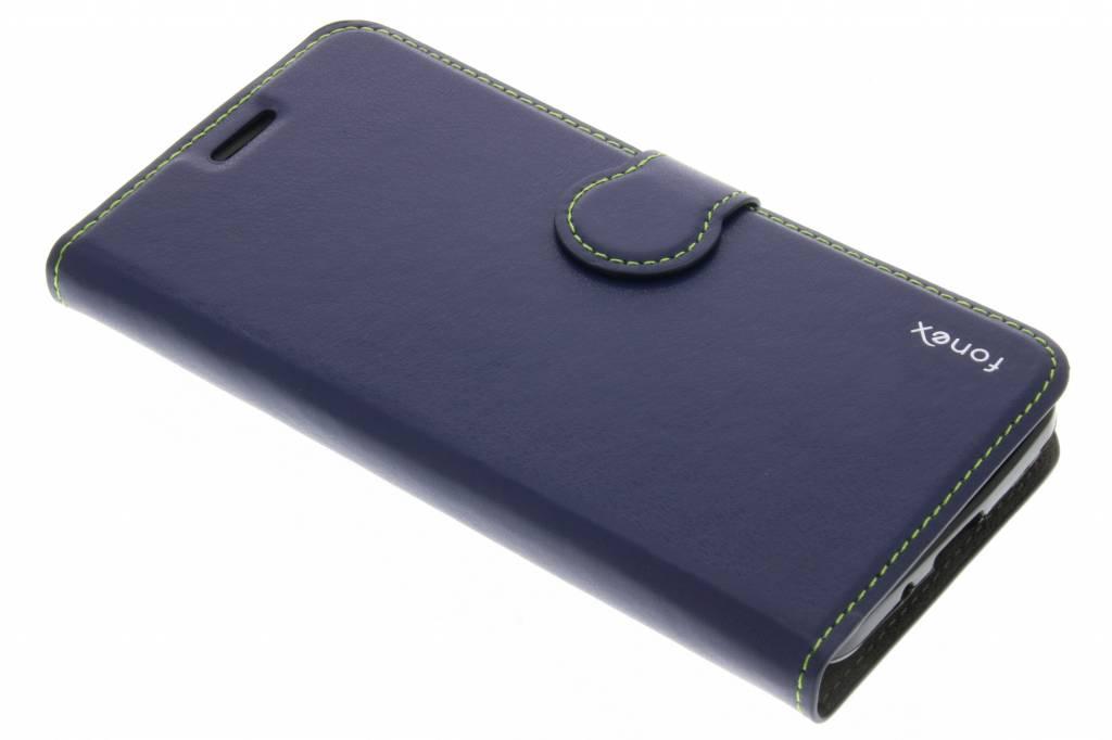 Fonex Identity Bookcase voor de Samsung Galaxy J3 / J3 (2016) - Blauw