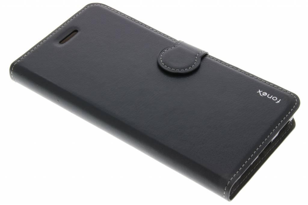 Fonex Identity Bookcase voor de Huawei Y6 2 - Zwart