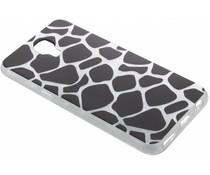 Dierenprint design Giraffe TPU hoesje LG X Screen