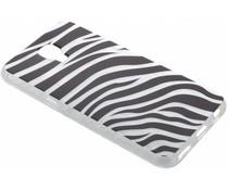Dierenprint design Zebra TPU hoesje LG X Screen