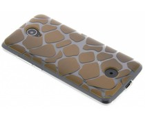 Dierenprint design Giraffe TPU hoesje Acer Zest (4G)