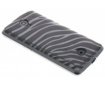 Dierenprint design Zebra TPU hoesje Acer Zest (4G)