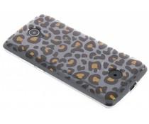 Dierenprint design Luipaard TPU hoesje Acer Zest (4G)
