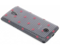 Dots and hearts design TPU hoesje Acer Liquid Zest (4G)