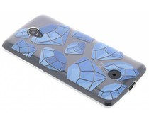 Diamonds design TPU hoesje Acer Liquid Zest (4G)