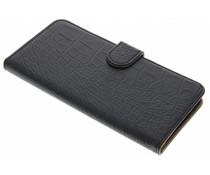 Zwart krokodil booktype hoes HTC Desire 830