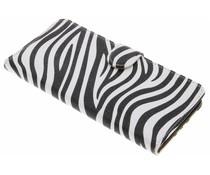 Zebra booktype hoes HTC Desire 830