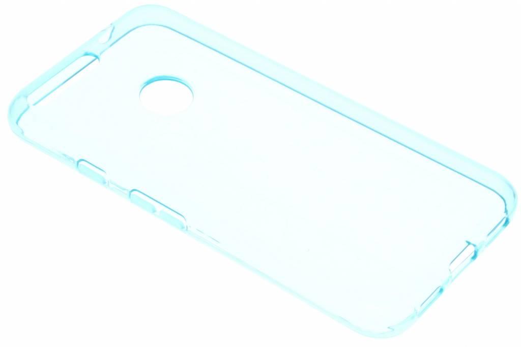 Blauwe transparante gel case voor de Google Pixel