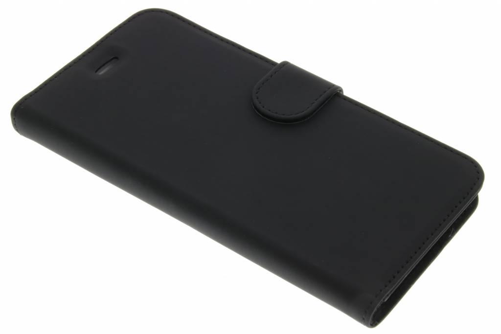 Wallet TPU Booklet voor de iPhone 6(s) Plus - Zwart