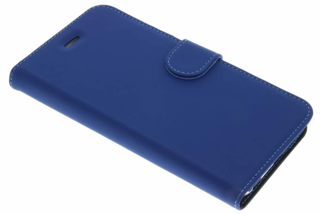 Accezz Wallet TPU Booklet voor de iPhone 6(s) Plus - Blauw