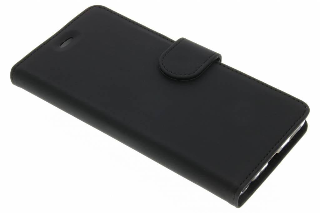 Accezz Wallet TPU Booklet voor de Huawei P9 - Zwart