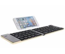 Foldable Bluetooth Keyboard met standaard - Goud