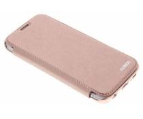 Crystal slim book case Samsung Galaxy S6 Edge