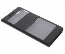 Luxe slim booktype hoes met venster Xiaomi Mi 5