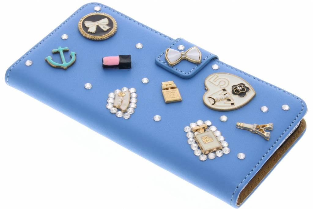 Blauwe fabulous booktype voor de iPhone 6 / 6s