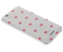 Dots and hearts design TPU hoesje Acer Liquid Z630