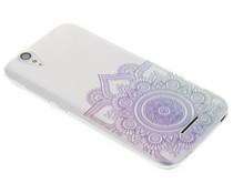 Mandala design TPU hoesje Acer Liquid Z630