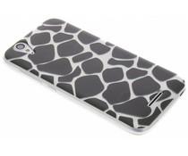 Dierenprint design Giraffe TPU hoesje Acer Liquid Z630