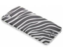 Dierenprint design Zebra TPU hoesje Acer Liquid Z630