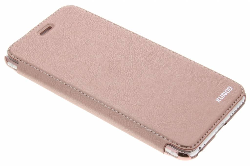 Roze crystal slim book case voor de iPhone 6(s) Plus