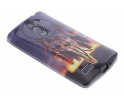 Design TPU siliconen hoesje LG L Bello / L80 Plus