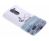 Design TPU siliconen hoesje LG L Bello / L80 Plus
