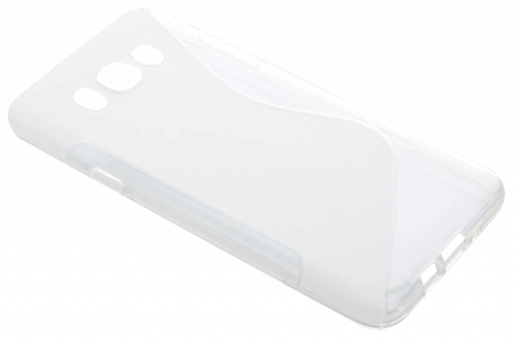 Transparant S-line TPU hoesje voor de Samsung Galaxy J7 (2016)