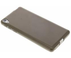 Grijs transparant gel case Sony Xperia E5