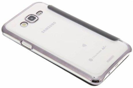 tui Noir Livret Mince Pour Samsung Galaxy S8 bL98T