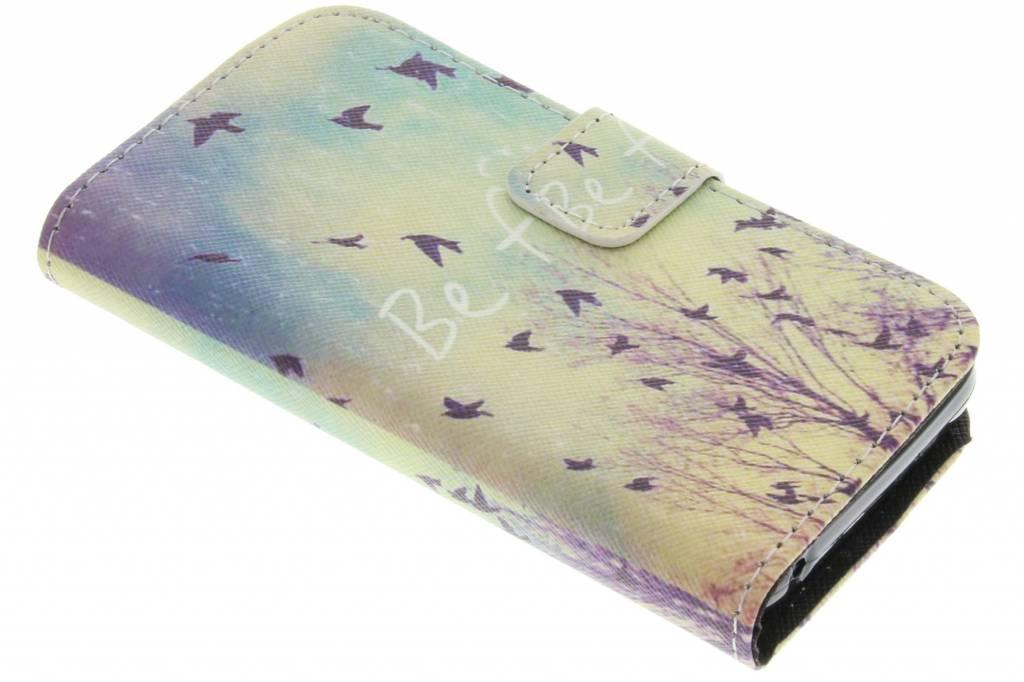 Be free design TPU booktype hoes voor de Huawei Y360