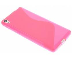 Rosé S-line TPU hoesje Sony Xperia E5