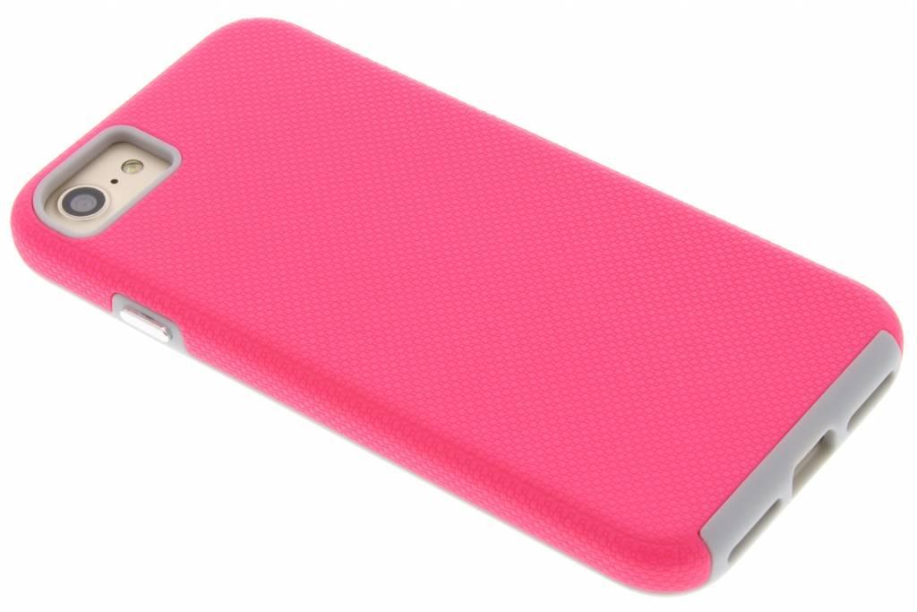 Roze rugged case voor de iPhone 7