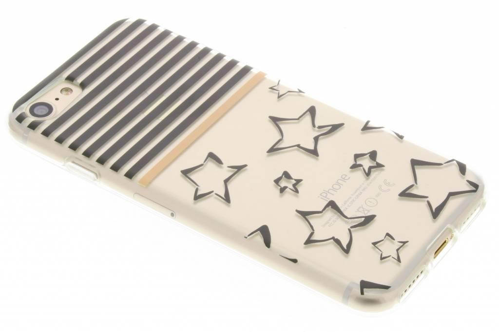 Streep design TPU siliconen hoesje voor de iPhone 7