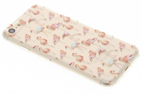 iPhone 7 hoesje - Flamingo design TPU siliconen