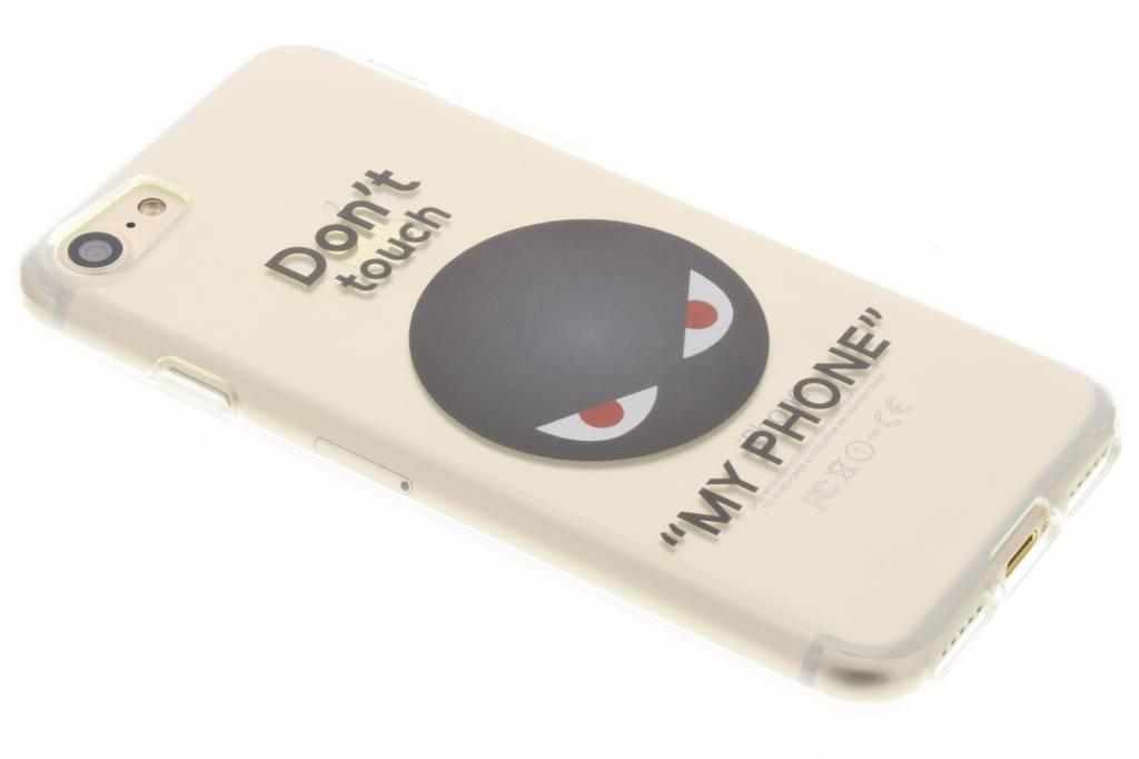 Don't touch design TPU siliconen hoesje voor de iPhone 7