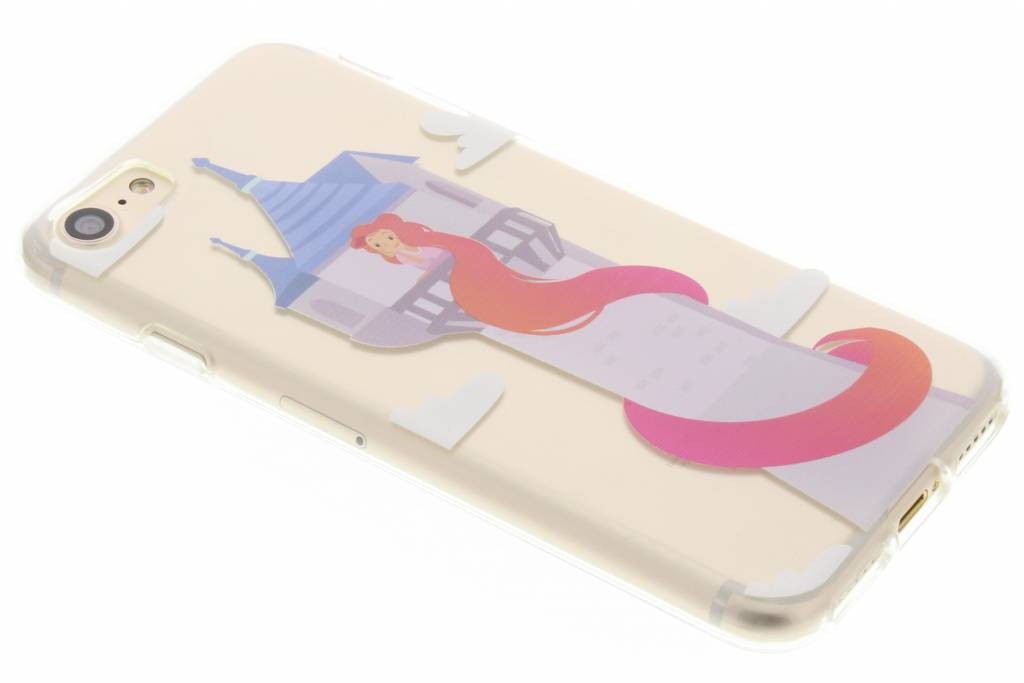 Rapunzel Sprookjes TPU siliconen hoesje voor de iPhone 8 / 7