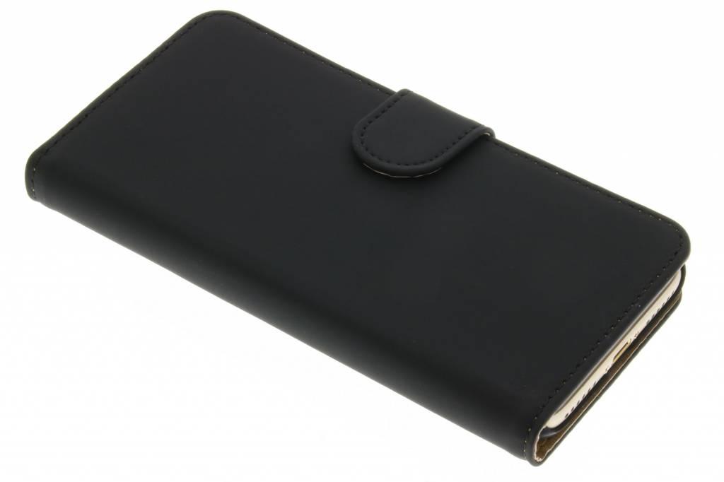 Zwarte effen booktype hoes voor de iPhone 7