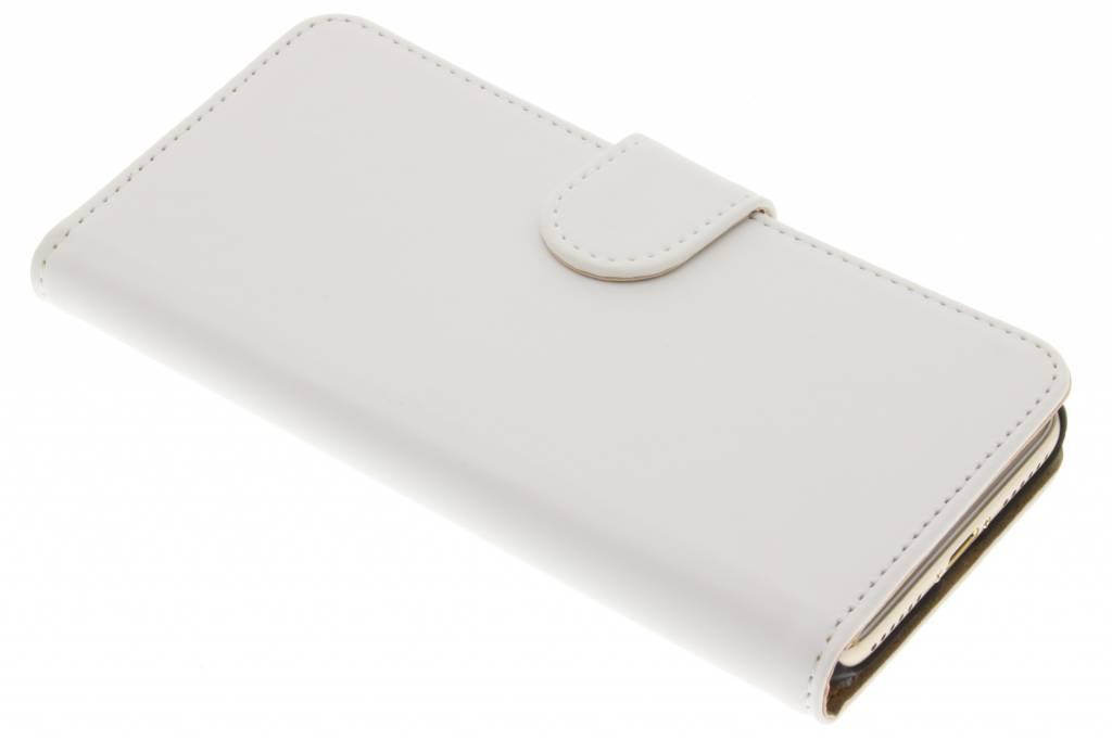 Witte effen booktype hoes voor de iPhone 7