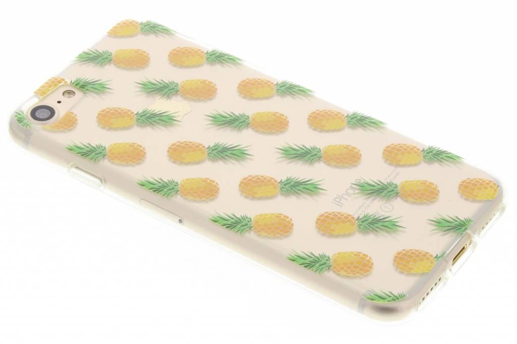 Transparant ananas fruit design TPU hoesje voor de iPhone 7