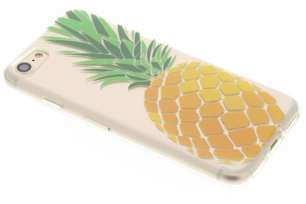 Transparant ananas fruit design TPU hoesje voor de iPhone 8 / 7