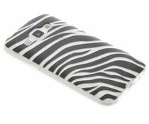 Dierenprint design Zebra TPU hoesje Samsung Galaxy J1