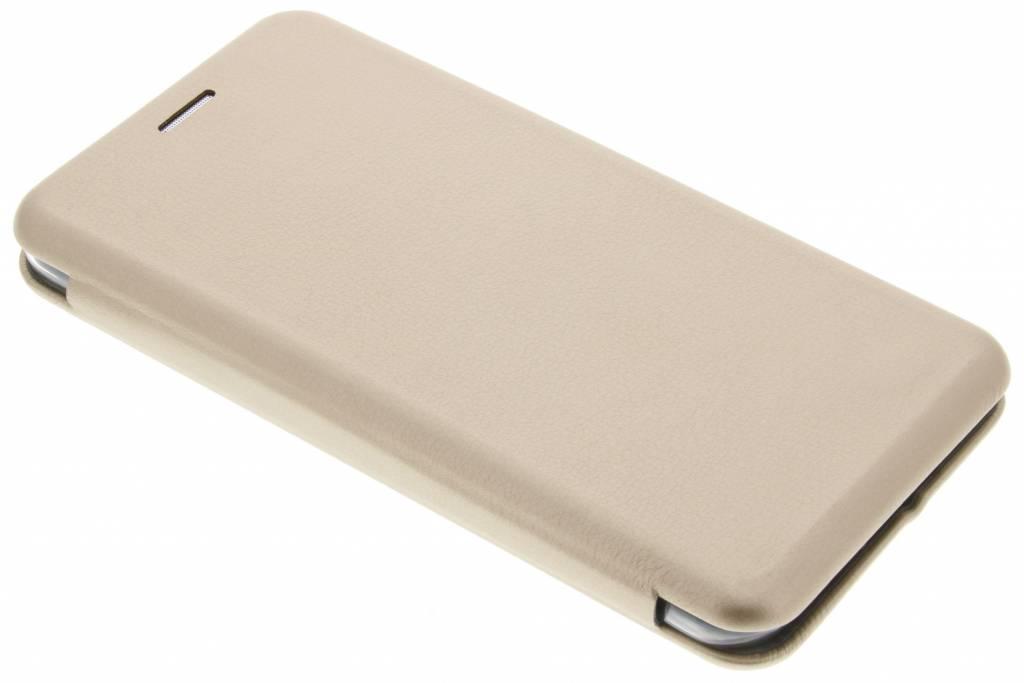 Gouden Slim Foliocase voor de iPhone 6(s) Plus