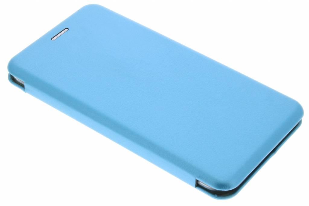 Blauwe Slim Foliocase voor de Samsung Galaxy J1 (2016)