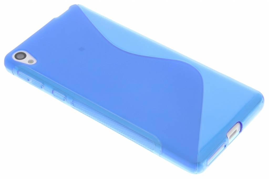 Blauw S-line TPU hoesje voor de Sony Xperia E5