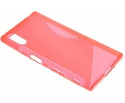 Rood S-line TPU hoesje Sony Xperia XZ / XZs