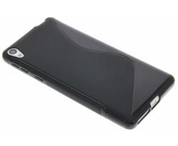 Zwart S-line TPU hoesje Sony Xperia E5