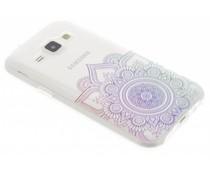 Mandala design TPU hoesje Samsung Galaxy J1