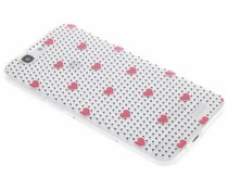 Dots and hearts design TPU hoesje Huawei Ascend G7