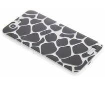 Dierenprint design Giraffe TPU hoesje Huawei Ascend G7