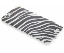 Dierenprint design Zebra TPU hoesje Huawei Ascend G7